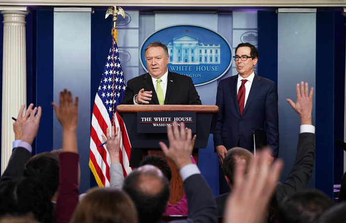 Минфин США конкретизировал новые санкции против Ирана