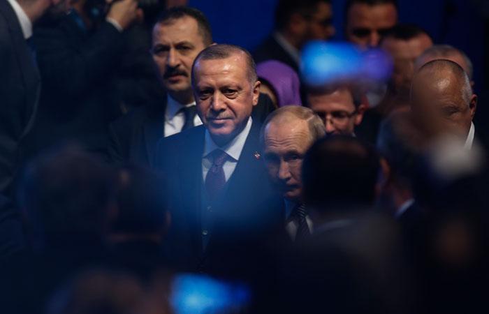 Эрдоган передал Путину инициативу по нормализации обстановки в Ливии