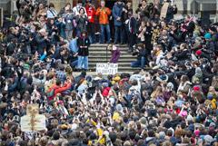 Грета Тунберг приняла участие в многотысячной акции протеста в Швейцарии