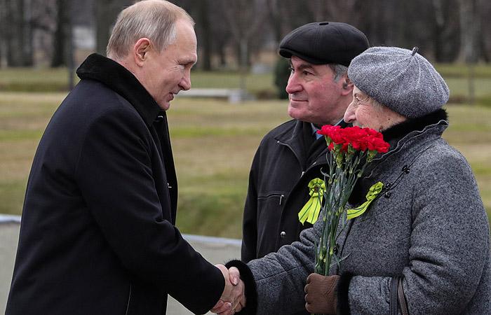 Путин озвучил размер выплат ветеранам к 75-летию Победы