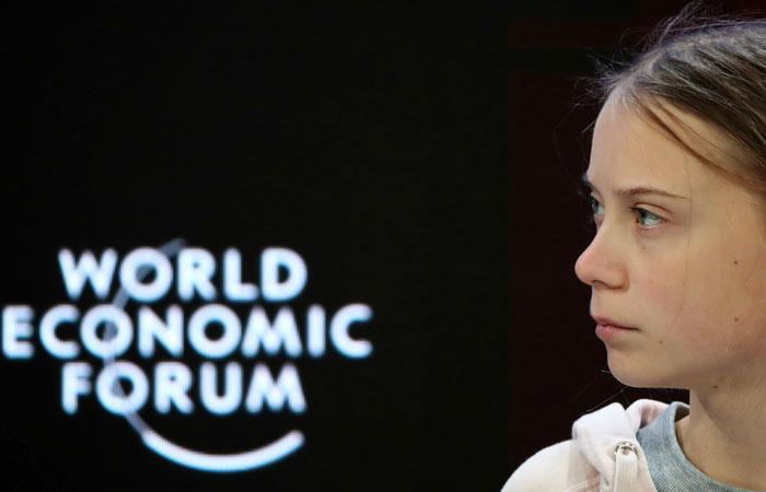 Грета Тунберг заявила в Давосе об отсутствии прогресса в защите климата