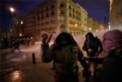 В Бейруте продолжились столкновения противников нового правительства с полицией