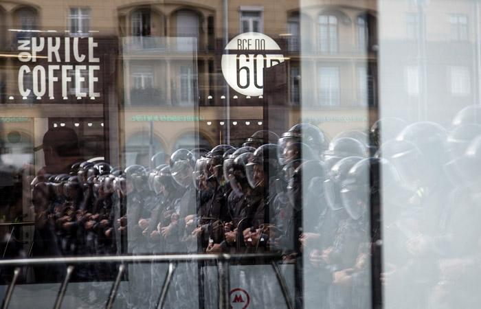 В Москве за год на политических акциях задержали более 3 тысяч человек
