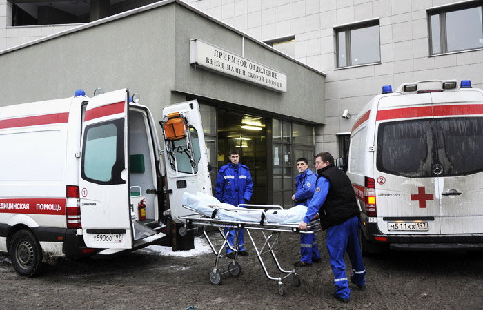 В Боткинскую больницу Петербурга продолжают поступать прибывшие из Китая