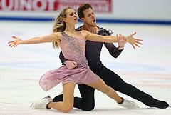 Фигуристы Синицина и Кацалапов стали чемпионами Европы в танцах