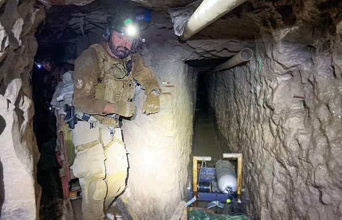 Самый длинный тоннель контрабандистов обнаружен на границе Мексики и США