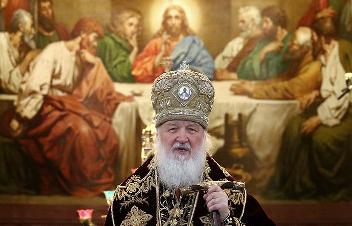 Патриарх Кирилл предложил включить упоминание о боге в Конституцию России