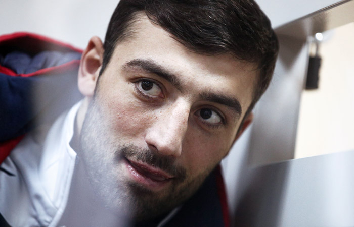 Напавший на росгвардейца боксер Кушиташвили отправлен под арест