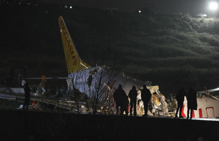 Число пострадавших в результате ЧП с лайнером в Стамбуле возросло более чем вдвое