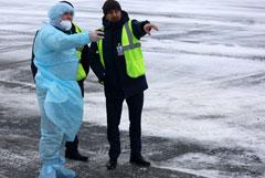 Первая группа эвакуированных из Уханя доставлена в Тюмень
