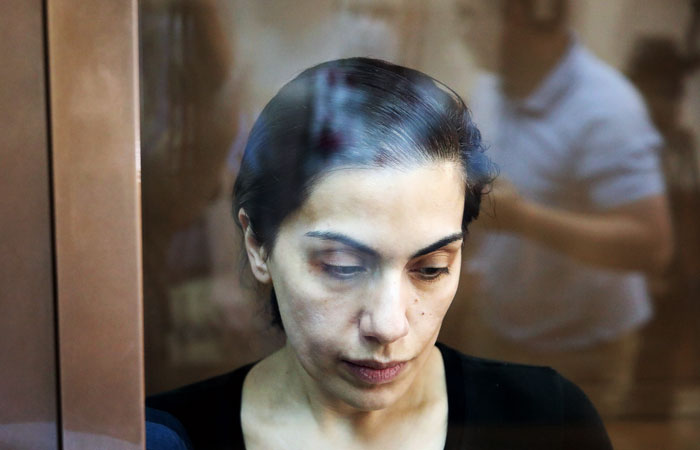 Суд вернул Цуркан под арест по делу о шпионаже
