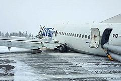 Пилоты сажали аварийный лайнер в Коми по командам диспетчеров