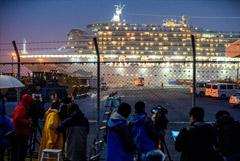 В МИД объяснили, почему пока не вывезли россиян с круизного лайнера в Японии