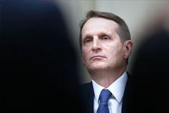 В СВР опровергли слухи о попытке Нарышкина освободить задержанного в ОАЭ болгарского бизнесмена