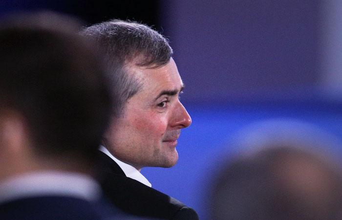 Путин освободил Суркова от должности помощника президента РФ