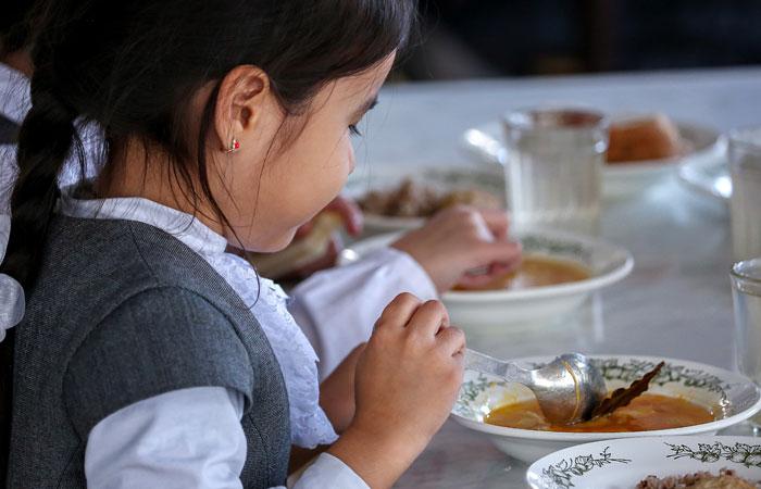 Госдума приняла закон о бесплатном горячем питании в начальных классах