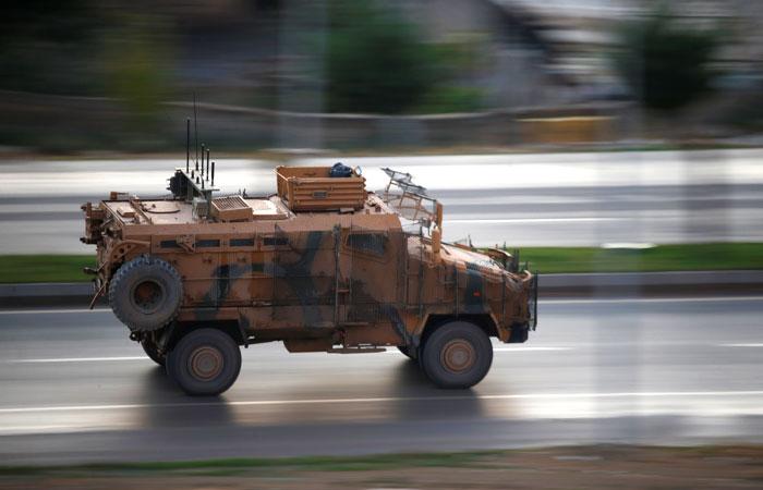 Турецкие войска начали наступление в сирийской провинции Идлиб