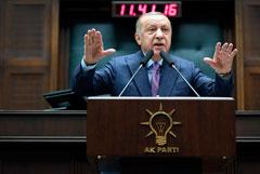Эрдоган призвал Путина выполнять сочинское соглашение по Идлибу
