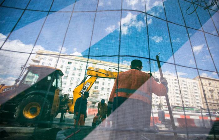 Ремонт дорог в Москве начался раньше обычного из-за аномального тепла