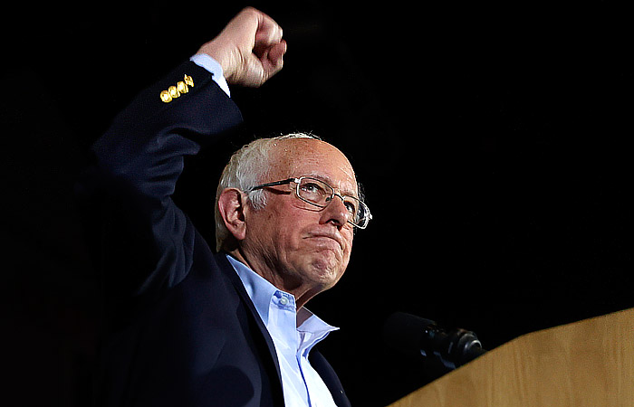 Берни Сандерс одержал победу на кокусах Демократической партии в Неваде