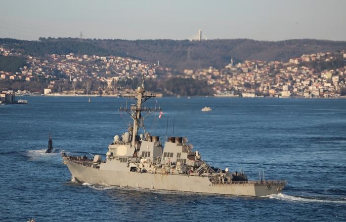 "Командование флота США объяснило заход эсминца ""Росс"" в Черное море"