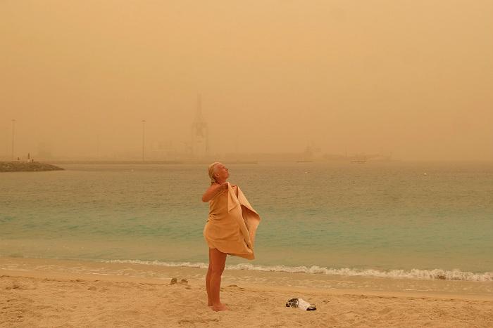 Канарские острова накрыла песчаная буря