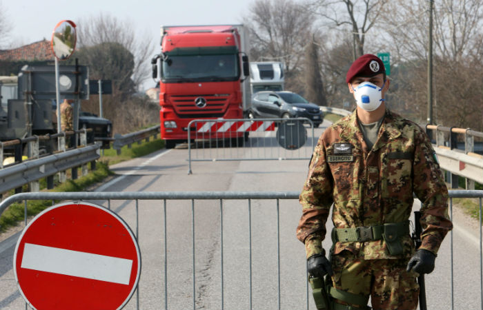 Страны Европы усиливают меры по сдерживанию коронавируса