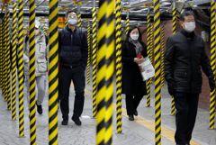 Число людей, заболевших коронавирусом в Южной Корее, превысило 1 тыс. человек