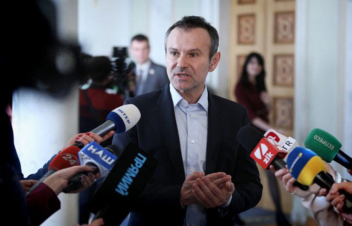 Партия Вакарчука представила стратегию возвращения Украине Донбасса и Крыма