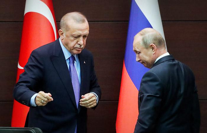 В Кремле назвали ориентировочную дату встречи Путина и Эрдогана