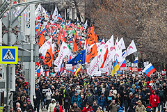 В Москве началась акция памяти Бориса Немцова