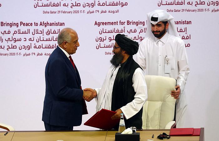 Талибы и США подписали мирное соглашение в Катаре