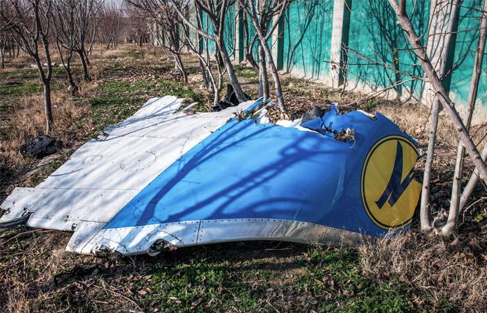 На месте крушения украинского лайнера в Иране