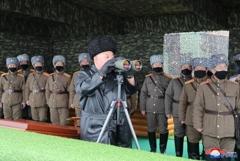 КНДР впервые в 2020 году запустила неопознанные снаряды