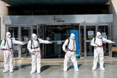 Число зараженных коронавирусом в Южной Корее достигло 4812 человек