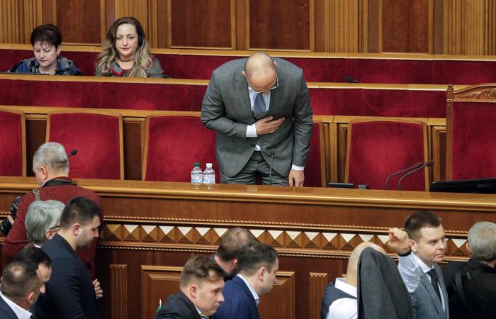 Рада утвердила новый состав кабинета министров Украины