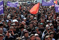 Следствие расценило беспорядки в Бишкеке как попытку захвата власти