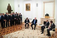 Переговоры Путина и Эрдогана продлились почти шесть часов