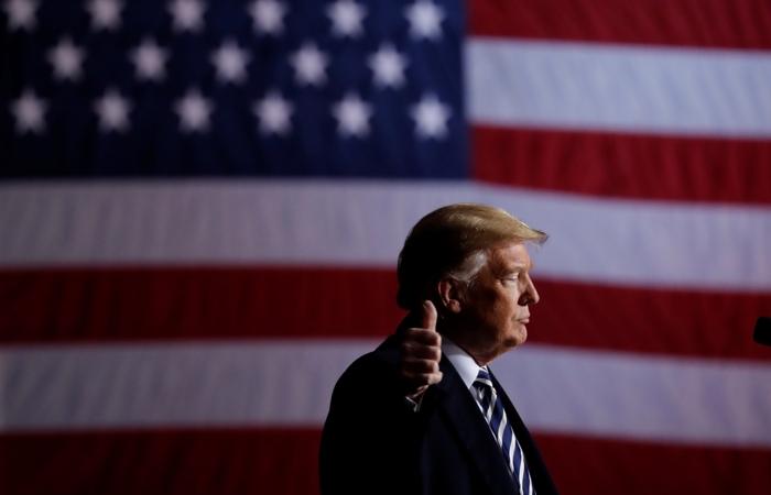 """Трамп назвал """"отличным возвращением"""" успех Байдена в """"супервторник"""""""