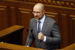 Новый премьер Украины опроверг свои слова о возможности подачи воды в Крым