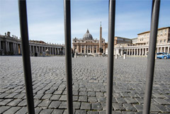 Собор Святого Петра в Ватикане закрыли для туристов