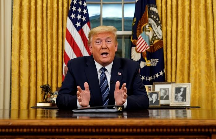 Трамп на 30 дней запретил въезд из Европы в США