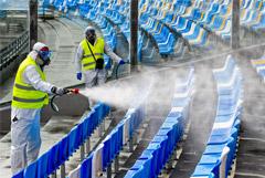 Матчи Лиги чемпионов и Лиги Европы оказались под угрозой отмены из-за COVID-19