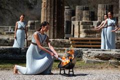 Огонь летних Олимпийских игр-2020 зажжен в Греции