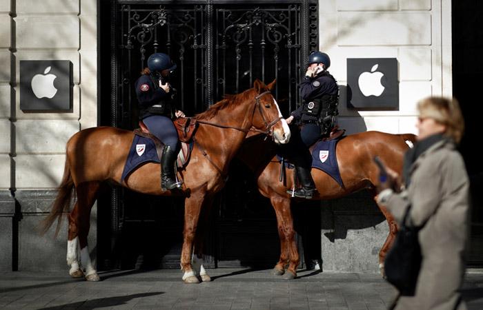 Франция оштрафовала Apple на 1,1 млрд евро
