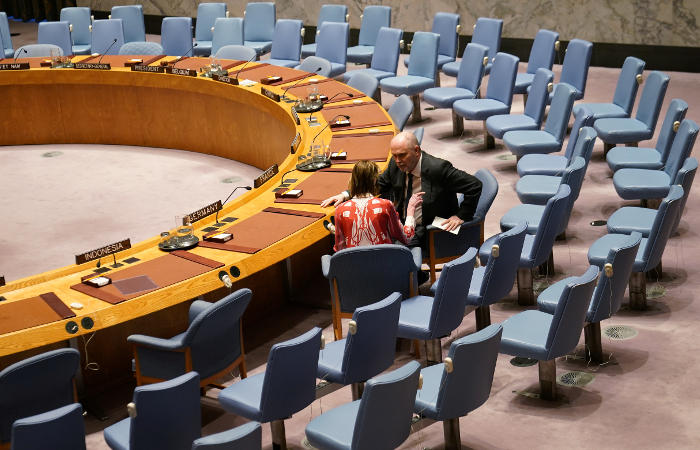 СБ ООН отложил все заседания до конца недели