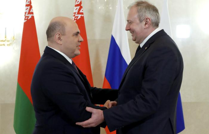 Мишустин и Румас отметили принципиальные договоренности по поставкам нефти в Белоруссию