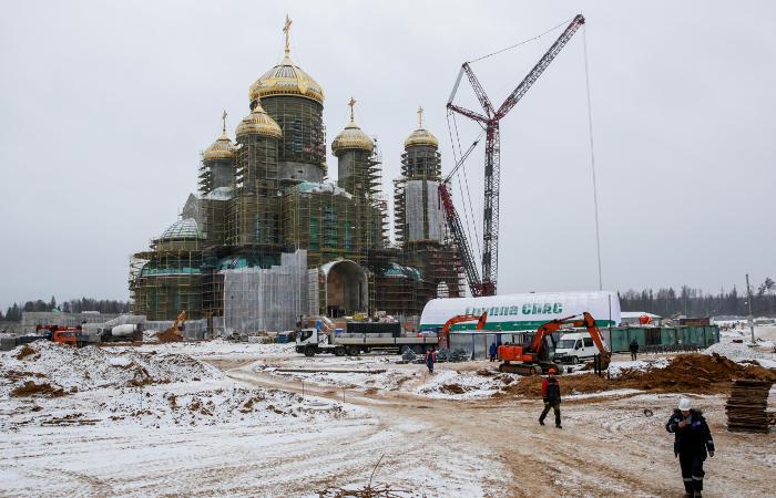 Шойгу объяснил выбор места для Главного храма Вооруженных сил РФ