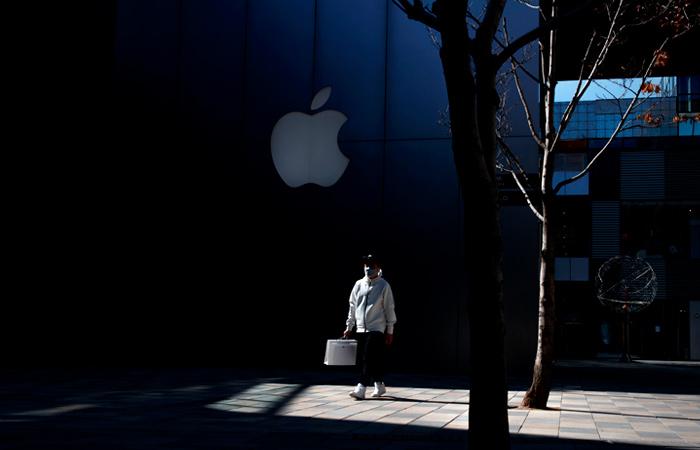 Капитализация Apple опустилась ниже $1 трлн впервые с октября