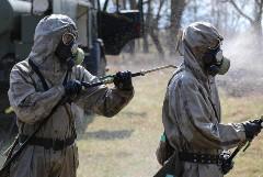 В четырех регионах РФ создали группировки войск для борьбы с коронавирусом